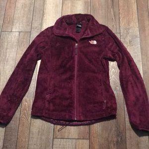 The North Face women's sz XS fuzzy jacket